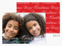 """Merry Christmas"" Holiday Photo Card"